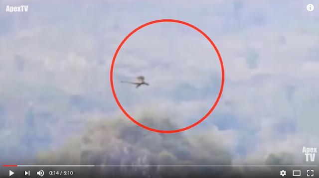 Menakjubkan, Seekor Naga Tertangkap Kamera Terbang Melintasi Pegunungan