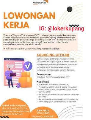 Lowongan Kerja Wahana Visi Indonesia Sebagai Sourcing Officer