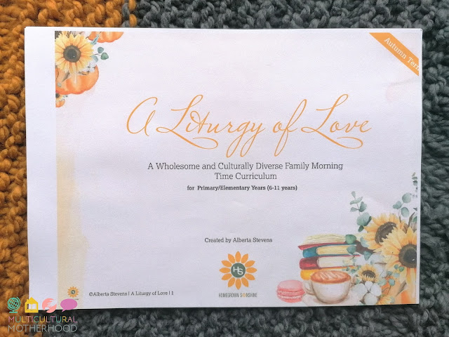 A Liturgy of Love Morning Time Curriculum Review
