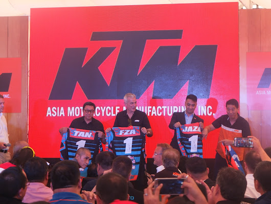 KTM Motorcycle Opens Laguna Plant