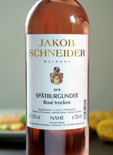 Rosé Wein aus dem Weingut Jakob Schneider von der Nahe.