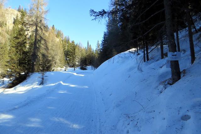 monte piana inverno neve ciaspole