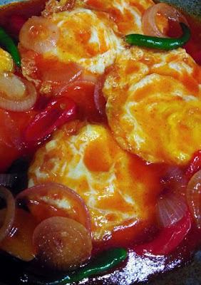 Resepi Telur Goreng Masak Sos