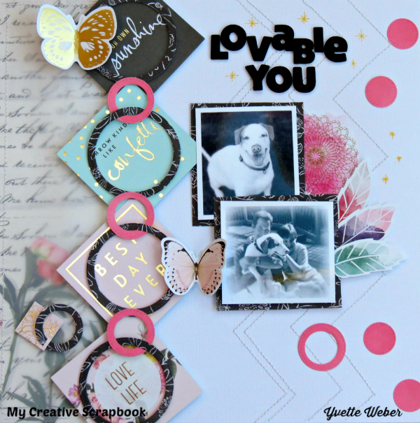Scrapping With Yvette: My Creative Scrapbook