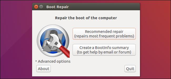 Boot repair for Linux