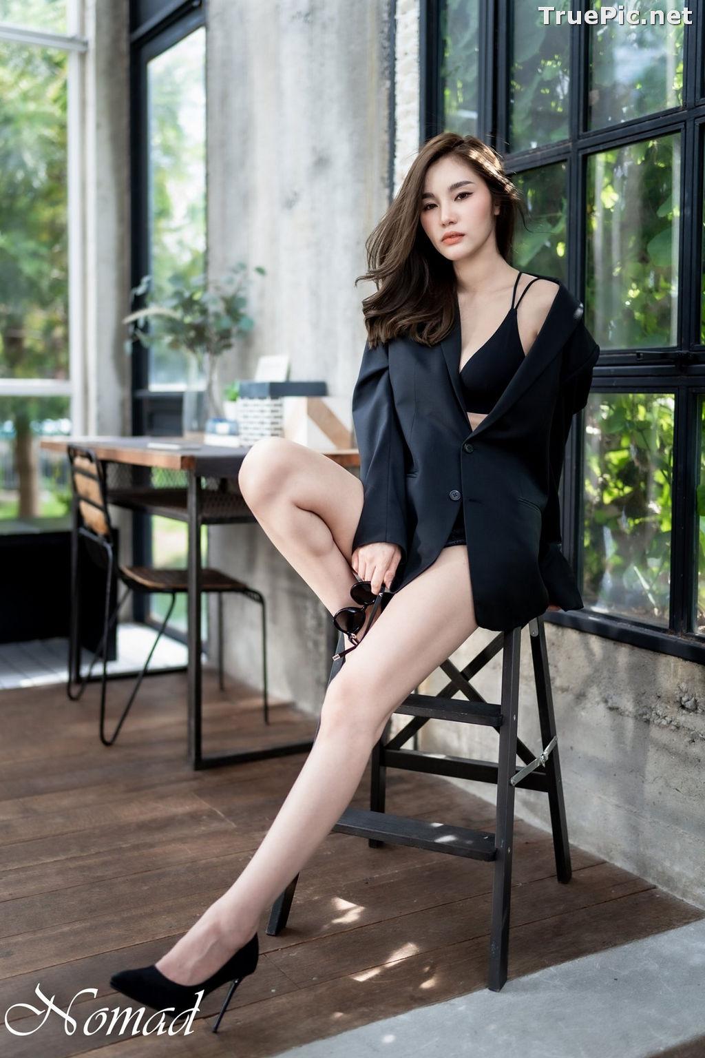 Image Thailand Model - Jarunan Tavepanya - Beautiful In Black and White - TruePic.net - Picture-2