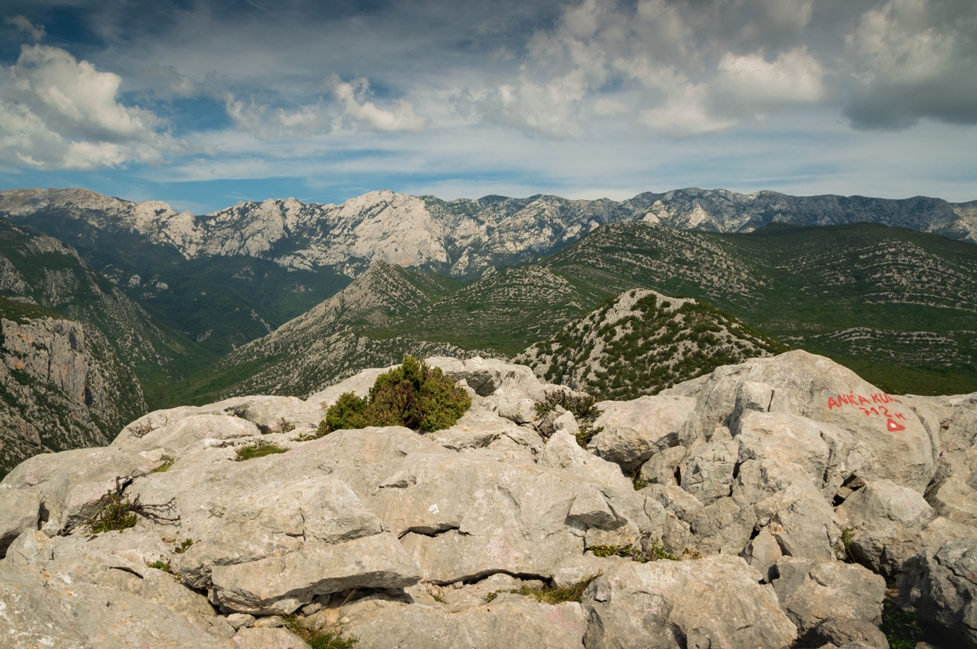 Góry Dynarskie w Chorwacji