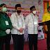 Bapaslon Bupati dan Wakil Bupati Agam Hariadi-Novi Endri Mendaftar ke KPU