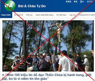 USCIRF can thiệp thô bạo vào công việc nội bộ của Việt Nam