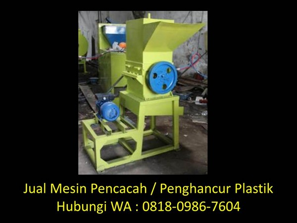 cara membuat mesin penggiling plastik bekas di bandung
