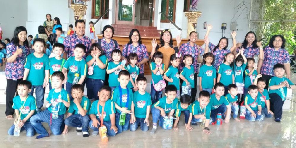 TK Kristen Kalam Kudus Surakarta Ikuti Natal Gugus se-Banjarsari