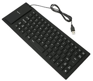 flexible waterproof usb keyboard