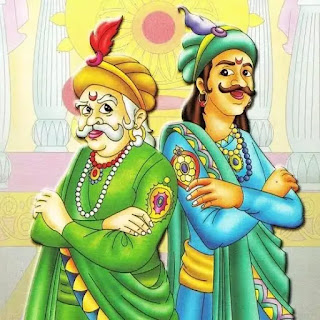 Akbar birbal stories in Hindi with pictures