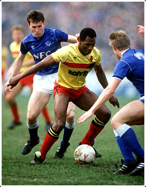 Luther Blissett Watford Everton
