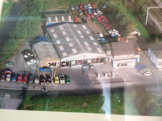 Lesse's of Barlaston from the air