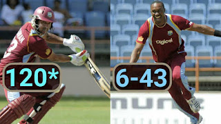 Ramnaresh Sarwan 120* | Dwayne Bravo 6-43 - West Indies vs Zimbabwe 2nd ODI 2013 Highlights