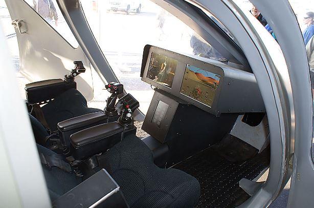 Sikorsky S-97 Raider cockpit