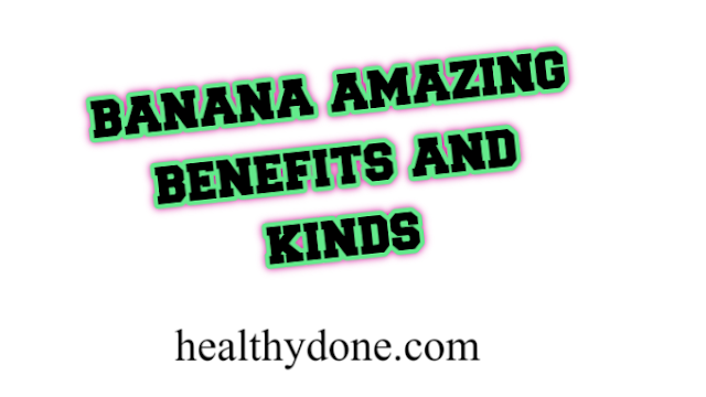 Banana - amazing benefits and kinds