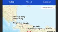Gempa 4,0 M Pusat gempa di Tasikmalaya terasa ke Pangandaran