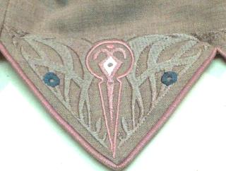 Driehoek op rokzoom