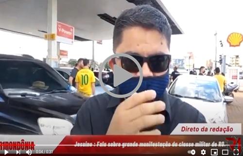 Carreata pela valorização dos policiais militares de Rondônia