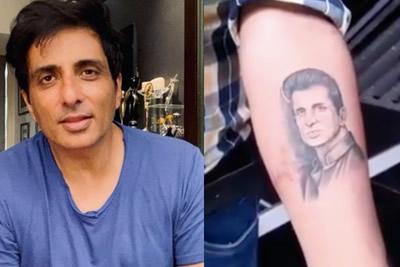 Sonu Sood Tattoo
