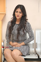 Actress Chandini Chowdary Pos in Short Dress at Howrah Bridge Movie Press Meet  0171.JPG