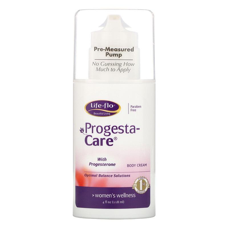 Life-flo, Крем для тела Progesta-Care, 113,4 г (4 унции)
