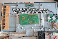 service tv sharp gading serpong
