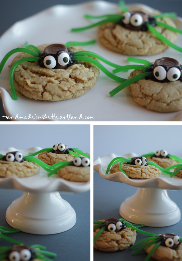 easy diy halloween spider cookies