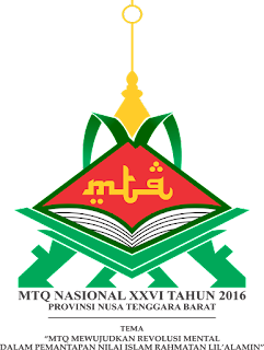 Logo MTQ Nasional ke XXVI Lombok NTB Tahun 2016