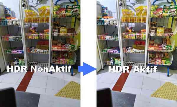 Contoh hasil kamera dengan HDR