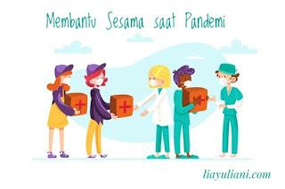 Membantu sesama saat pandemi