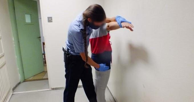 Ártándon elfogtak egy nőt, akivel szemben elfogatóparancs volt érvényben