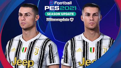 PES 2021 Datapack 2.0 Faces Cristiano Ronaldo