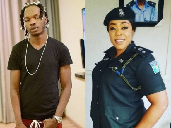 Policewoman Reacts As Naira Marley Says Big Backside Is Better Than Masters Degree