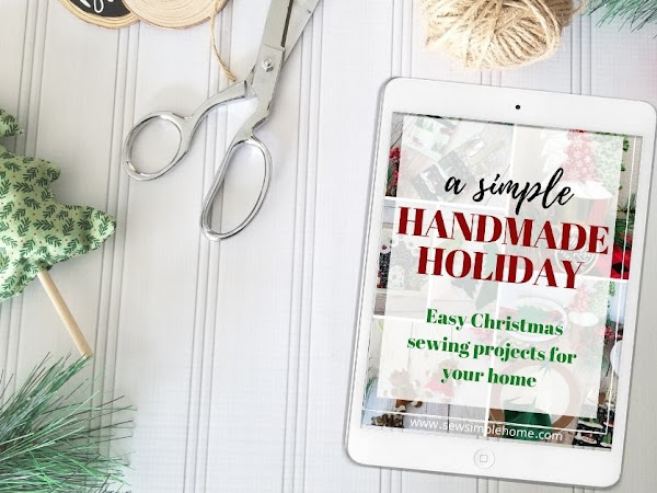 A Simple Handmade Holiday eBook Launch