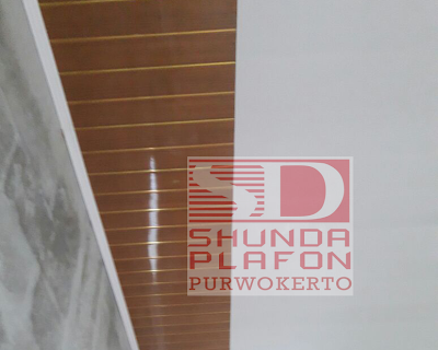 Pemasangan Plafon Pvc Shunda di Rumah Bapak Suparman