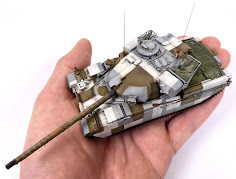 Painting & Weathering Guide: 1/72nd scale Chieftain Mk.11 and Chieftain Mk.10 from Takom