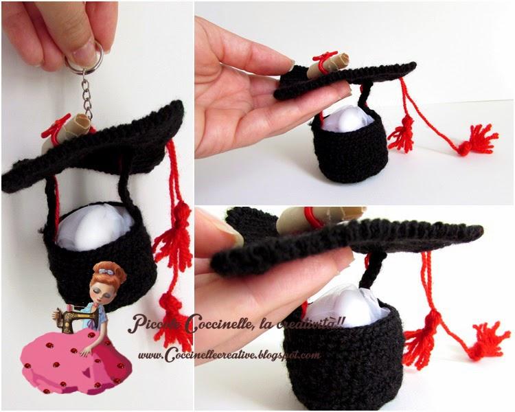 Popolare Piccole coccinelle, la creatività !! : Cappello Laurea per  OD76