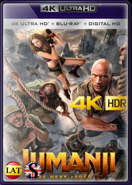 Jumanji: El Siguiente Nivel (2019) 4K UHD HDR LATINO/INGLES