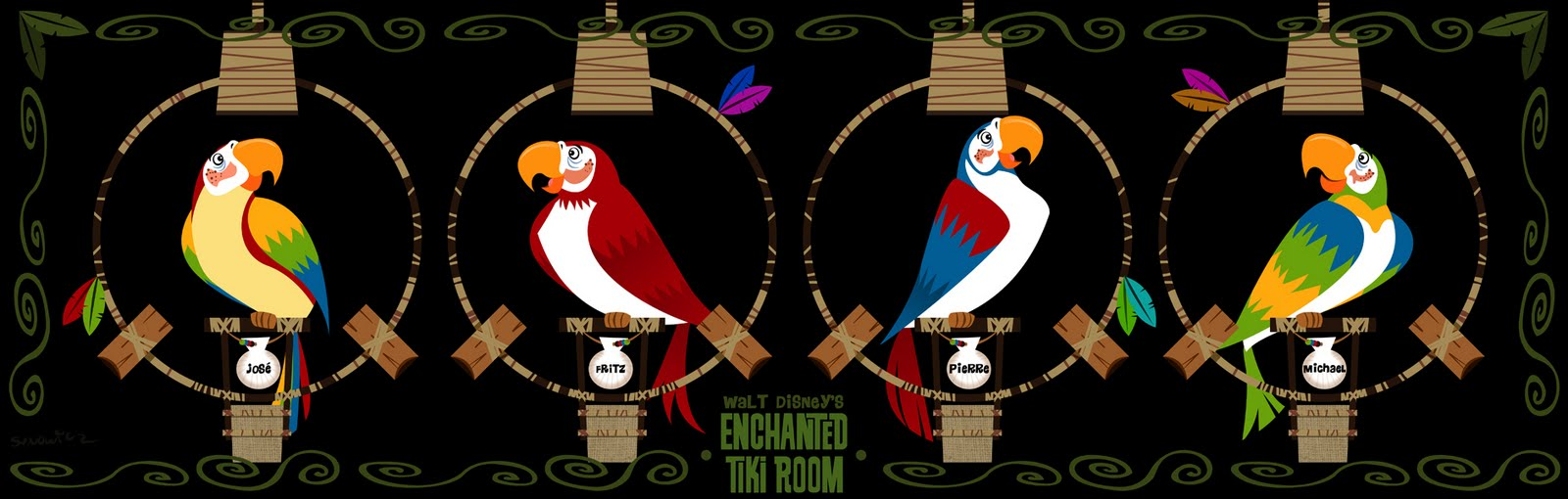 Featured Attraction Enchanted Tiki Room By Disney Club