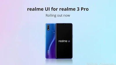 Realme 3 Pro - Android 10 pie update