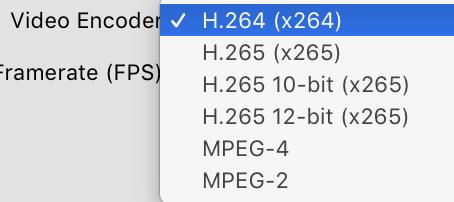 Handbrake | 12-bit & 120fps HEVC