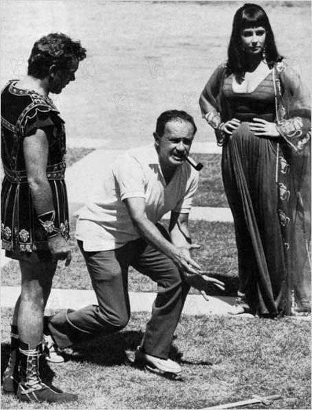 El rodaje de Cleopatra en España