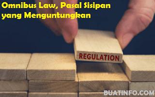 Buat Info - Omnibus Law, Pasal Sisipan yang Menguntungkan Karyawan / Buruh