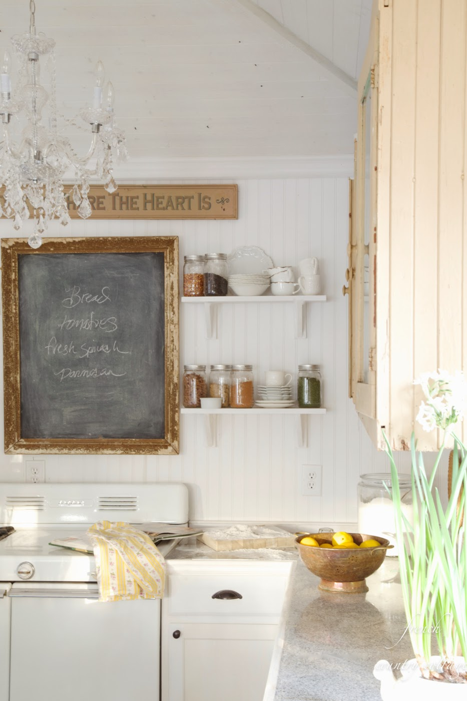 How To Style Shelves French Country Cottage