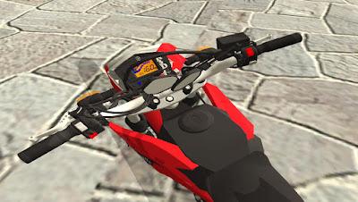 Mod moto YAMAHA LANDER 250 para GTA San Andreas , GTA SA