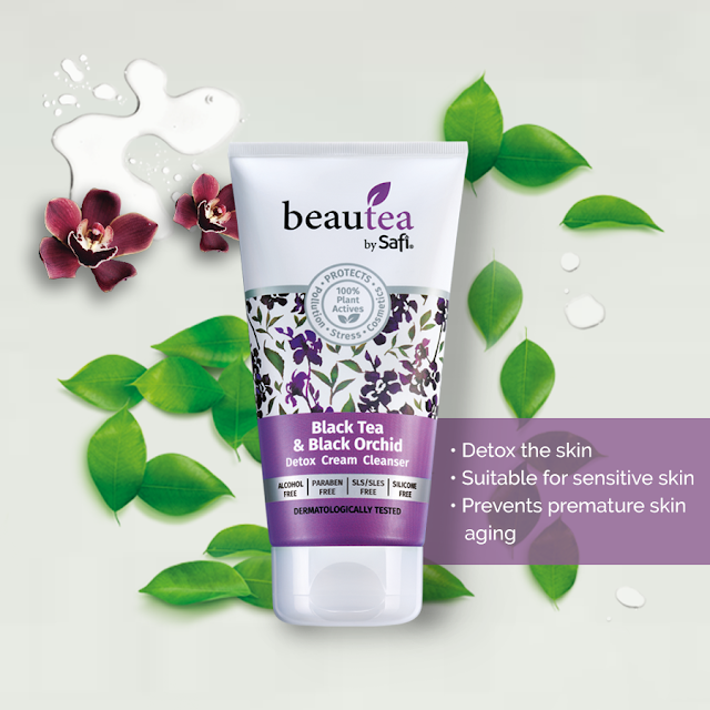 Black Tea & Black Orchid Detoxifying Cleanser