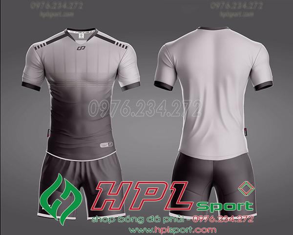 Áo bóng đá không logo Cp Cobat Màu Xám